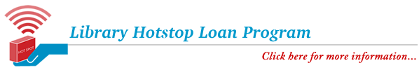 Library Hotspot Loan Program